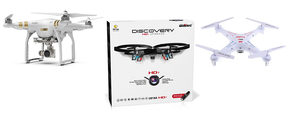 The Best and Most Recommended Drones for Sale – 2016